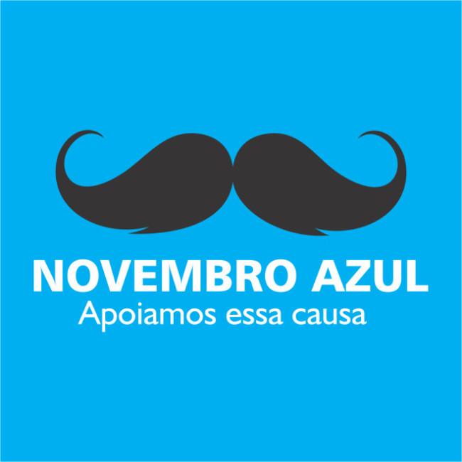 Novembro Azul – Todos juntos na luta contra o câncer !