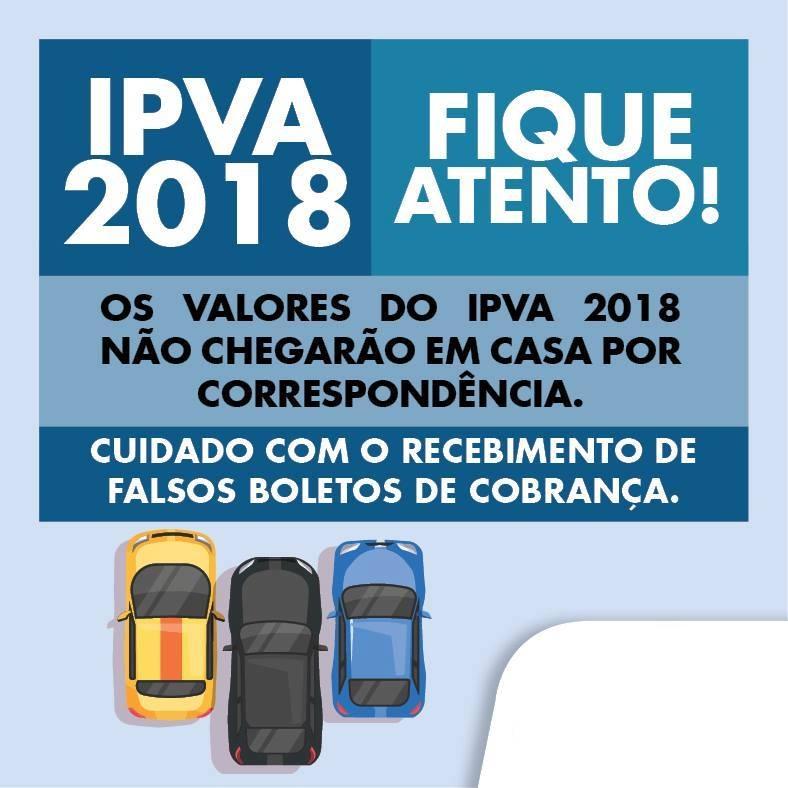 Secretaria de Fazenda do RJ alerta para tentativa de golpe com falso boleto de IPVA.