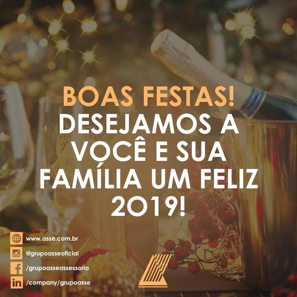 O Grupo Asse deseja a todos Boas Festas!