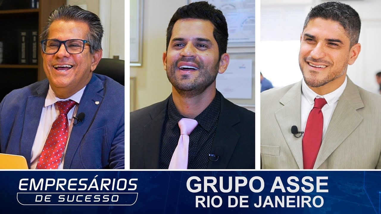 Grupo Asse no programa EMPRESÁRIOS DE SUCESSO (Band News)