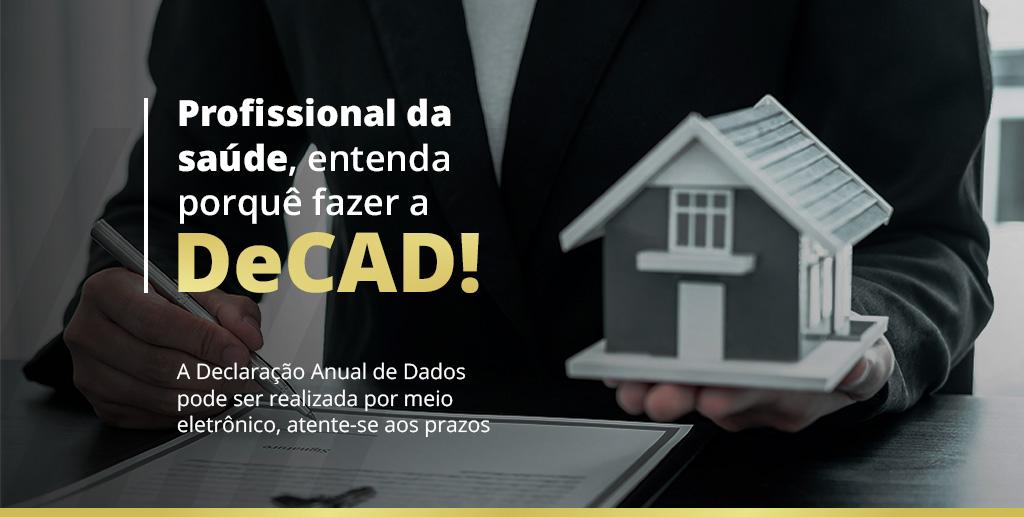 Profissional da saúde, entenda porquê fazer a DeCAD!